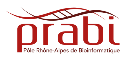 Pole Rhone-Alpes de BioInformatique logo